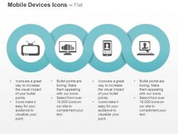Computer Laptop Mobile Television Ppt Icons Graphics