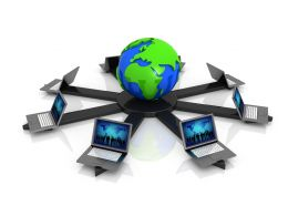 computer_laptops_around_globe_for_global_nerwork_stock_photo_Slide01