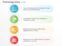 Computer Mobile Global Business App Update Ppt Icons Graphics