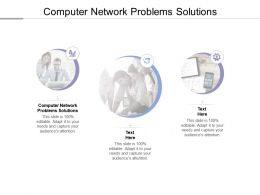 Computer Network Problems Solutions Ppt Powerpoint Presentation Outline Good Cpb