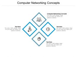 Computer Networking Concepts Ppt Powerpoint Presentation Show Rules Cpb