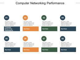 Computer Networking Performance Ppt Powerpoint Presentation Infographics Visuals Cpb