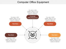 Computer Office Equipment Ppt Powerpoint Presentation Inspiration Cpb