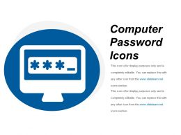 Computer Password Icons