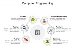 Computer Programming Ppt Powerpoint Presentation File Format Ideas Cpb