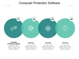 Computer Protection Software Ppt Powerpoint Presentation Model Outfit Cpb