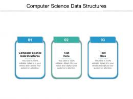 Computer Science Data Structures Ppt Powerpoint Presentation Professional Information Cpb