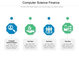 Computer Science Finance Ppt Powerpoint Presentation Infographic Template Good Cpb