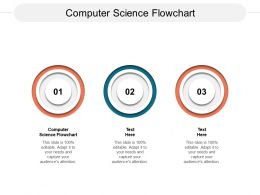 Computer Science Flowchart Ppt Powerpoint Presentation Layouts Infographic Template Cpb