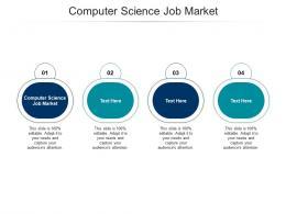 Computer Science Job Market Ppt Powerpoint Presentation Show Skills Cpb