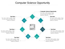 Computer Science Opportunity Ppt Powerpoint Presentation Model Design Inspiration Cpb