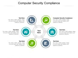 Computer Security Compliance Ppt Powerpoint Presentation Infographics Objects Cpb
