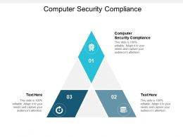 Computer Security Compliance Ppt Powerpoint Presentation Outline Show Cpb