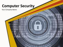 Computer Security Powerpoint Presentation Slides
