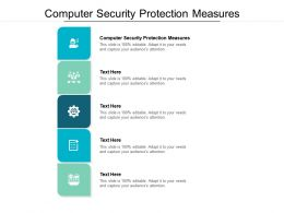 Computer Security Protection Measures Ppt Powerpoint Presentation File Formats Cpb