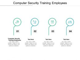 Computer Security Training Employees Ppt Powerpoint Presentation Inspiration Show Cpb