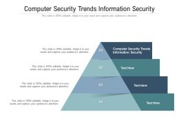 Computer Security Trends Information Security Ppt Powerpoint Presentation Icon Rules Cpb