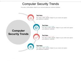 Computer Security Trends Ppt Powerpoint Presentation Outline Guidelines Cpb