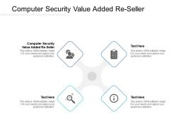 Computer Security Value Added Re Seller Ppt Powerpoint Presentation File Clipart Cpb