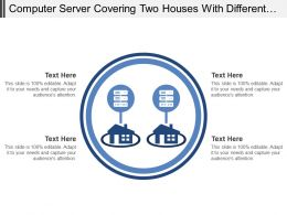 Computer Server Covering Two Houses With Different Hardware