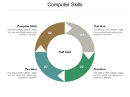 Computer Skills Ppt Powerpoint Presentation Pictures Graphics Tutorials Cpb