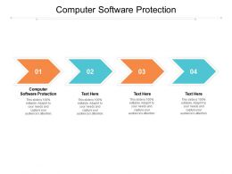 Computer Software Protection Ppt Powerpoint Presentation Ideas Clipart Cpb