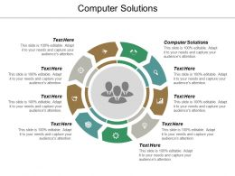 Computer Solutions Ppt Powerpoint Presentation Pictures Grid Cpb