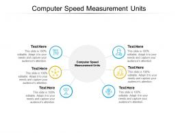 Computer Speed Measurement Units Ppt Powerpoint Presentation Professional Format Ideas Cpb