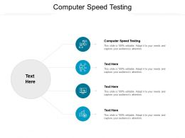 Computer Speed Testing Ppt Powerpoint Presentation Gallery Example Cpb