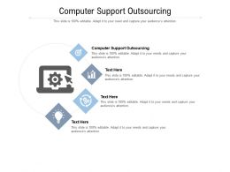 Computer Support Outsourcing Ppt Powerpoint Presentation Summary Styles Cpb