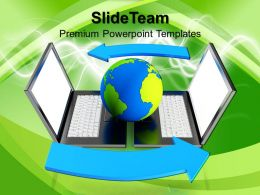 Computer System Image Templates And Themes Business Use Case Presentation