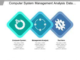 Computer System Management Analysis Data Storage Datastore Cluster