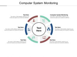 Computer System Monitoring Ppt Powerpoint Presentation Slides Rules Cpb