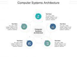 Computer Systems Architecture Ppt Powerpoint Presentation Infographics Infographics Cpb
