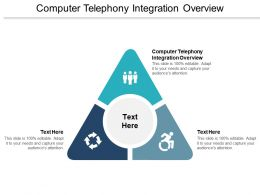 Computer Telephony Integration Overview Ppt Powerpoint Presentation Professional Cpb