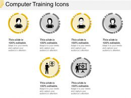 Computer Training Icons