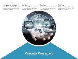 Computer Virus Attack Ppt Powerpoint Presentation Styles Infographics Cpb