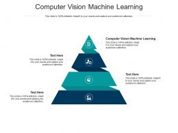 Computer Vision Machine Learning Ppt Powerpoint Presentation File Gridlines Cpb