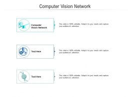 Computer Vision Network Ppt Powerpoint Presentation Infographic Template Template Cpb