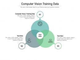 Computer Vision Training Data Ppt Powerpoint Presentation File Icons Cpb