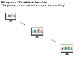computer_with_bar_graph_and_timeline_flat_powerpoint_design_Slide02