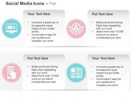 Computer With Mail Mobile Apps Social Networking Ppt Icons Graphics