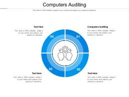 Computers Auditing Ppt Powerpoint Presentation Infographic Template Cpb