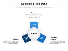 Computing Help Desk Ppt Powerpoint Presentation Infographic Template Grid Cpb