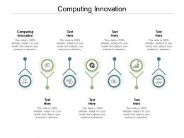 Computing Innovation Ppt Powerpoint Presentation Model Clipart Cpb