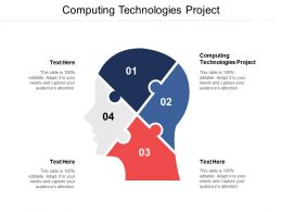 Computing Technologies Project Ppt Powerpoint Presentation File Example Cpb