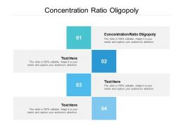 Concentration Ratio Oligopoly Ppt Powerpoint Presentation Gallery Influencers Cpb
