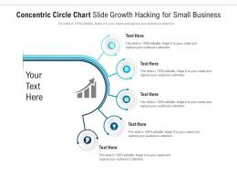 Concentric Circle Chart Slide Growth Hacking For Small Business Infographic Template