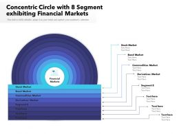 Concentric Circle With 8 Segment Exhibiting Financial Markets