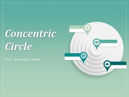 Concentric Circles Business Marketing Strategy Development Management